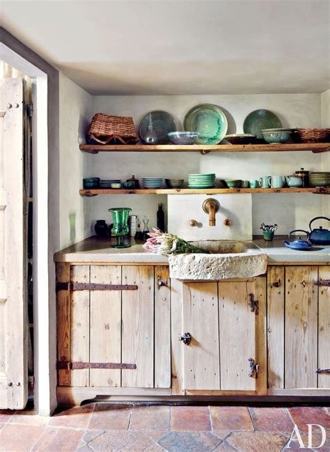 rustic kitchen shelves axel vervoordt rustic kitchen for the home