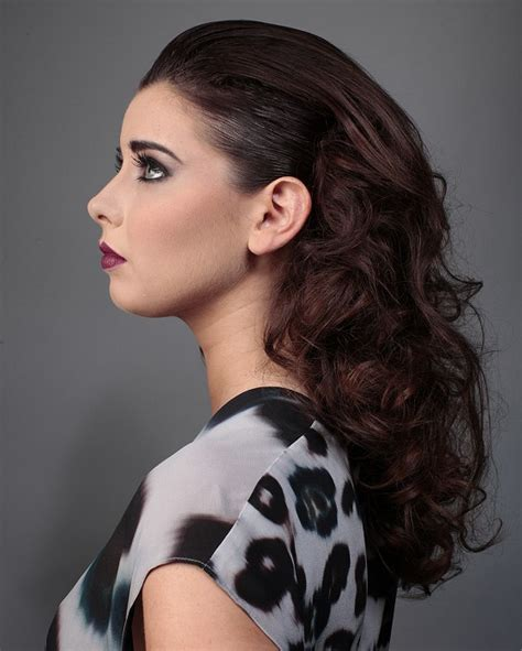 loreal hairstyles for women a long brown hairstyle from the l or 233 al colour trophy 2014