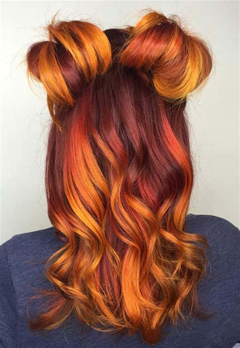 haircuts and color near me 50 copper hair color shades to swoon over fashionisers