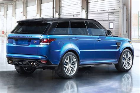 range rover sport suv used 2016 land rover range rover sport svr pricing for