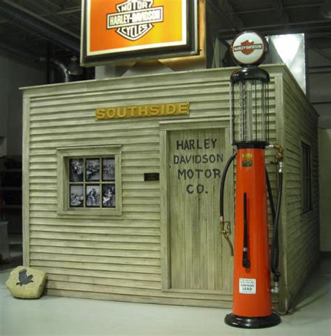 in search of the original harley davidson shed