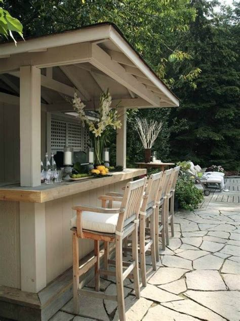 outdoor backyard bars 23 creative outdoor wet bar design ideas