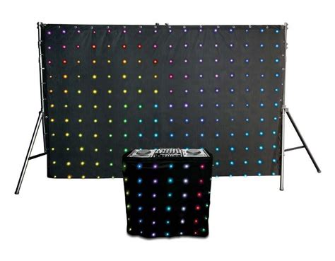 chauvet led curtain chauvet motionset led curtain backdrop and facade set