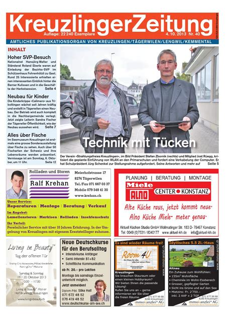 New Home Plans klz 40 by kreuzlingerzeitung issuu
