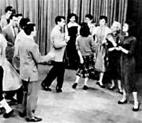 dick swing dance classic tv shows dick clark s american bandstand fiftiesweb