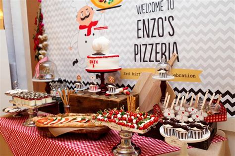 themed birthday party places kara s party ideas pizza themed birthday party full of