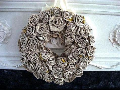 rolled paper flower wreath tutorial 13 best photos of rolled paper wreath tutorial rolled