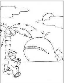jonah and the whale coloring page jonah coloring pages coloring home