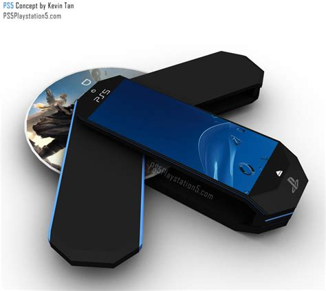 ps5 console ps5 transformer portable concept by kevin