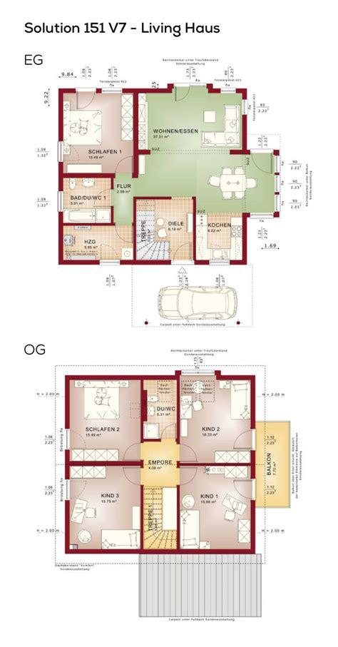 grundriss einfamilienhaus mit satteldach  zimmer