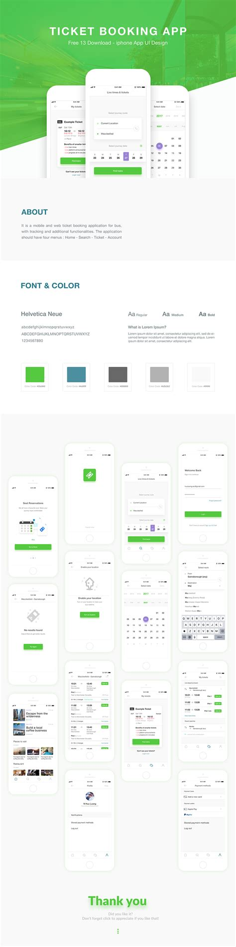 picture ticket booking ticket booking app design ui kit free xd