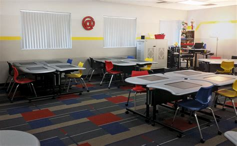 classroom layout for cooperative learning smartdesks pi collaboration tables energize folsom high s