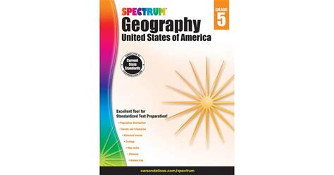 5 themes of geography owl teacher spectrum geography grade 5 cd 704660 carson dellosa