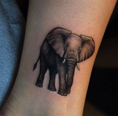 elephant ankle tattoo 51 exceptional elephant designs ideas tattooblend