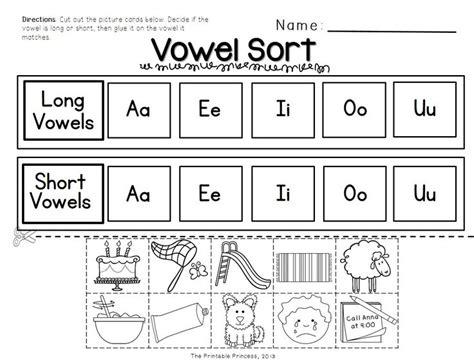 printable vowel games for kindergarten short and long vowel activities picture cards worksheets