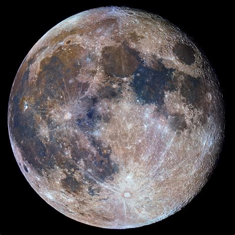 what color is the moon a splash of color across the supermoon universe today