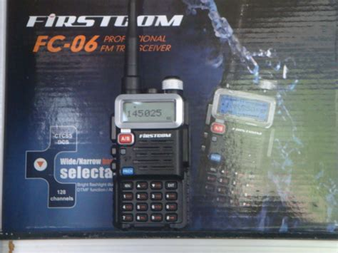 Ht Firstcom Fc 06 Single Band Vhf jual ht firstcom harga murah jual handy talky firstcom bergaransi