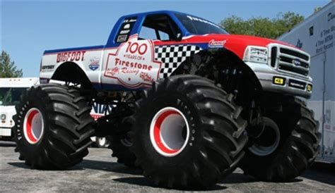 firestone bigfoot monster truck themonsterblog com we know monster trucks team