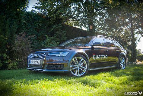 Audi A6 C7 Test by Audi A6 Allroad C7 3 0 Tdi Quattro Konkretne Kombi Test
