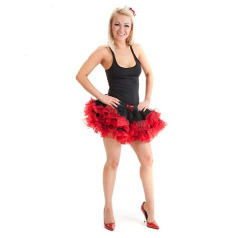 womens 2 layer tutu ruffle skirt hen