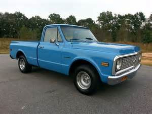 sell used 1971 chevrolet c 10 bed box automatic v8