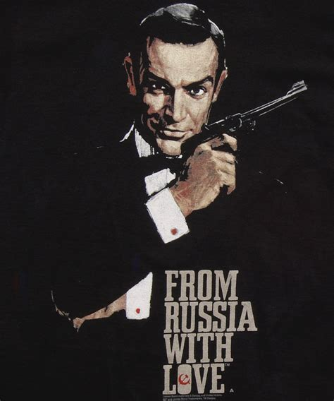 james bond from russia with love james bond from russia with love t shirt