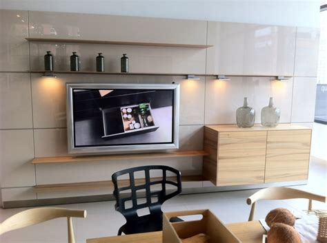 Kitchen Cabinets Hanging System Bulthaup San Diego B3 Wall System Used To Hang Tv And Cupboard Space Kitchens