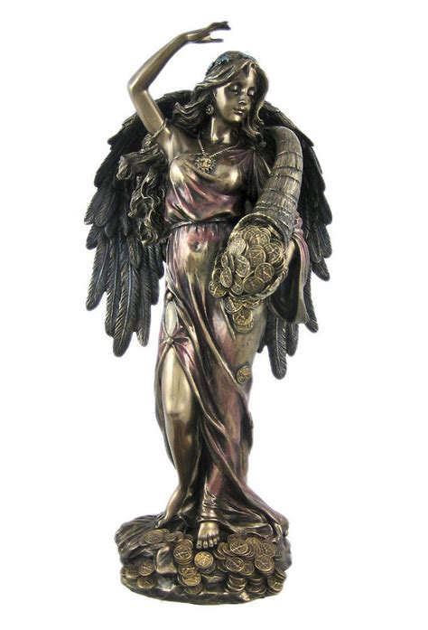 goddess fortuna lady fortuna goddess of luck fate and fortune statue