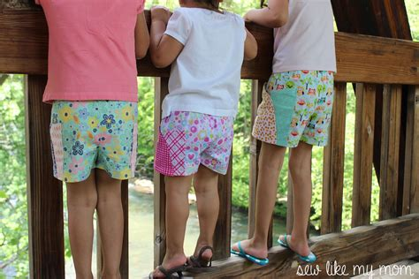 free pattern shorts sycamore shorts pattern sew like my mom