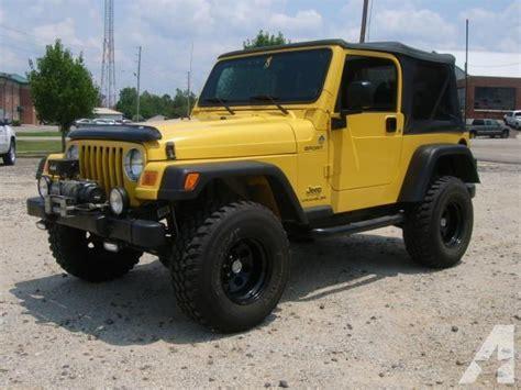 Jeep Wrangler For Sale In Alabama 2006 Jeep Wrangler Sport For Sale In Chatom Alabama