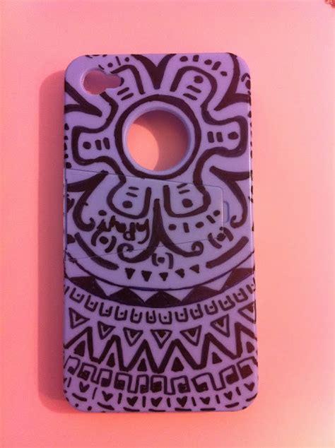 tribal pattern sharpie design the arts diy tribal pattern phone case