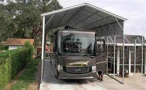 Rv Carports by 18x45 Cer Carport Metal Rv Carport Metal Carport For Rv