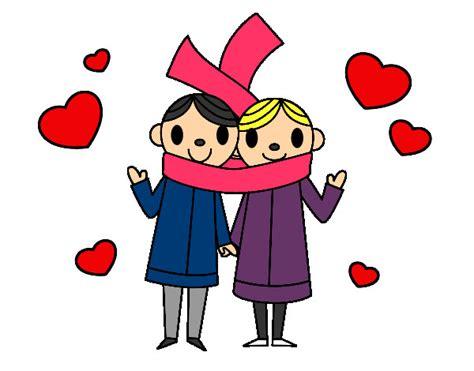 fotos de amor dibujos animados dibujo de amor unido pintado por damaris201 en dibujos net