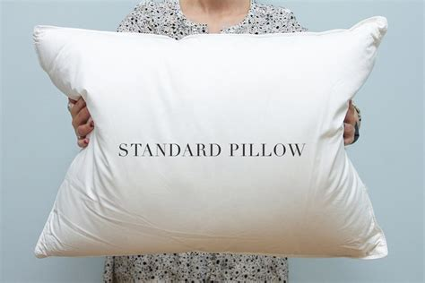 Size Pillows by Pillow Sizes Standard Or King Au Lit