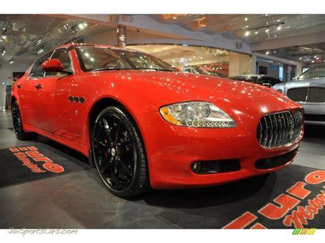 maserati quattroporte   rosso mondiale red  jax sports cars cars  sale