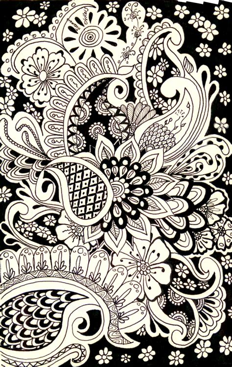 doodle pattern pinterest monochrome paisley patterns pinterest patterns zen