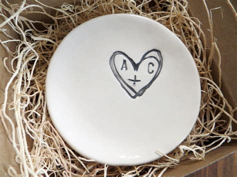 Wedding Ring Dish Holder by Wedding Ring Dish Ring Holder Engagement Gift You Plus Me