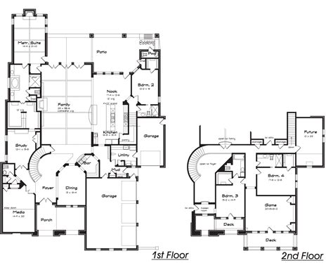 home plans with hidden rooms marchwood texas best house plans by creative architects