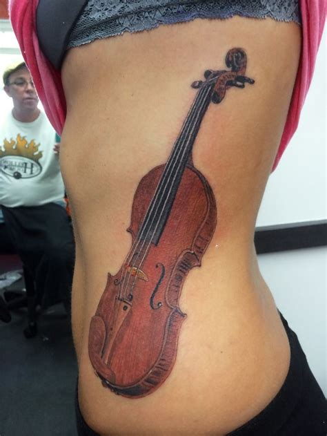 violin tattoo back 17 best images about music on pinterest treble clef