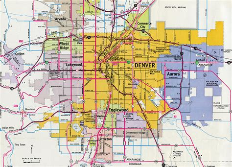 map denver colorado colorado aaroads denver