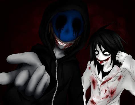 imagenes de jack vs jeff the killer eyeless jack and jeff the killer by ren ravie on deviantart