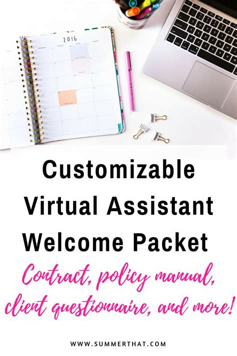 welcome packet template best 25 welcome packet ideas on
