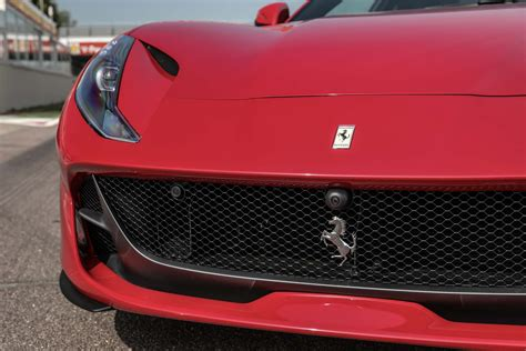 ferrari grill ferrari 812 superfast first drive review automobile magazine