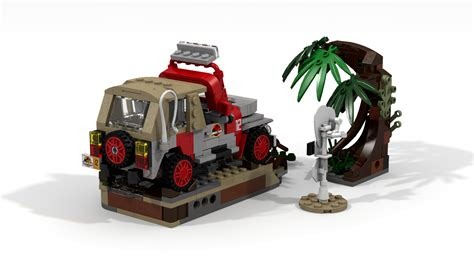 lego jurassic park jeep lego ideas jurassic park jeep wrangler dennis demise