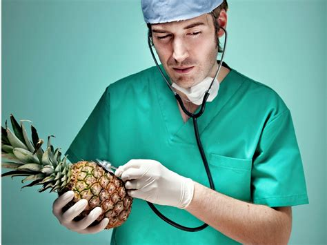 pineapples  stethoscopes  problem  stock images