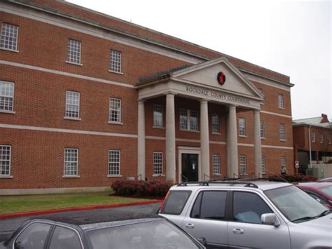 Rockdale County Court Records Conyers Ga Rockdale County Court House Photo Picture Image At City Data