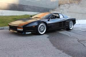 1990 Testarossa Price 1990 Testarossa Black Rear Wheel Drive Rwd Coupe