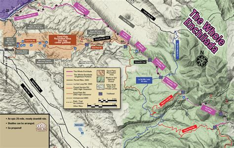 Moab Trail Maps For Hiking Biking And 4x4 Guestguide