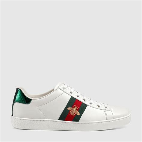 Bee Embroidery Platform Sneakers ace embroidered sneaker gucci s sneakers