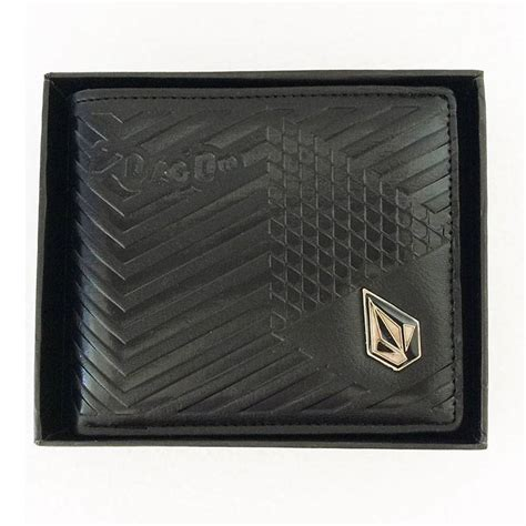 Volcom Gift Card - new with gift box volcom men s surf leather wallet 211 great gift ebay